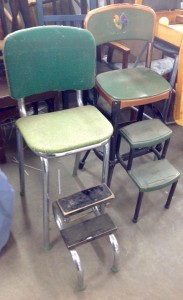 stools with step